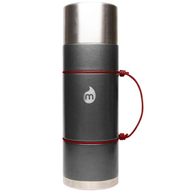 MIZU V10 Insulated Bottle 1000ml Gray Hammer Paint